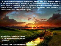 FALTA DE AMOR PRÓPRIO  cordeirodefreitas.wordpress.com