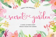 The Beautiful October Bundle | The Hungry Jpeg | Guide to dingbats and Open Type features in PDF file in folder.