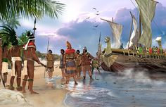 """Phoenicians landed in America"""