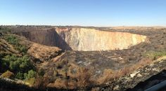 Famous Cullinan Diamond Mine. Diamond Mines, Grand Canyon, Safari, Nature, Travel, Naturaleza, Viajes, Destinations, Grand Canyon National Park
