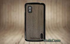 Nexus 4 case wood Real wood walnut case Vintage par UnikCase1