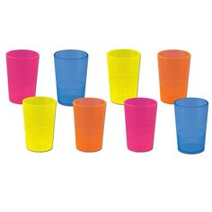 Neon Shot Glasses #shotglasses