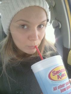 """This smoothie fan is loving her Green Tea Tango - """"best lunch ever!"""""""