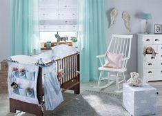 Detská izba - kolekcia Apanona    #detskaizba#rimskaroleta#zavesy#taburetka#apanona Living Room Designs, Baby Room, Cribs, Toddler Bed, Kids Room, Children, House, Furniture, Color