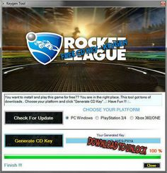 Rocket League Serial Key Generator Activation Code