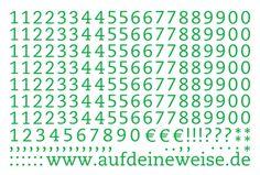 """Alphabet Sticker """"Eva"""" – grün; Bogen 3 (1-0)"""