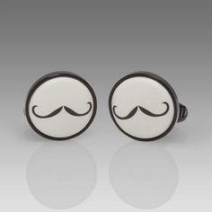 Paul Smith Cufflinks - Moustache Cufflinks