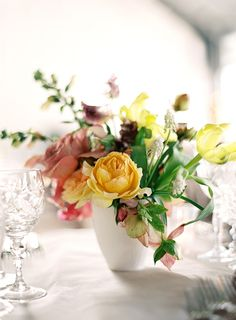 Colorful And Modern Arrangement By Sarah Winward