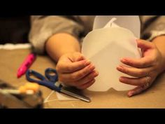How to Make an Upcycled Milk Jug Container - YouTube