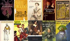 Best of British 19th century literature (except that I can't believe North and South and Far From the Madding Crowd didn't make it on the list!!)