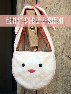 floppy eared bunny purse