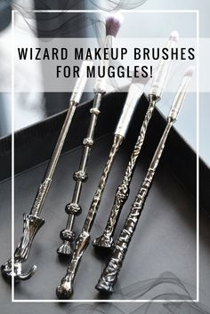 A review of some spectacular Harry Potter inspired Wizard Wand makeup brushes. Affordable yet amazing high quality!