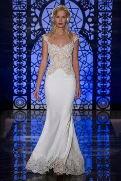 BODAS DE ALTA COSTURA: Reem Acra viste a una novia sofisticada y femenina...