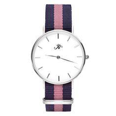 Rosedale - Silver Timepiece with NATO Strap – Joseph Nogucci