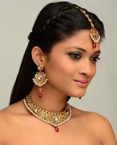The Rajkumari Choker Necklace Set