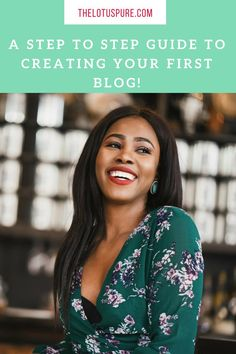How To Start A Blog;  a quick teach on how to create your first website and blog using wordpress!   #blogger #howtostartablog #seotips #influencer #wordpress http://www.thelotuspure.com/how-to-start-a-blog/