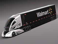 Walmart Truck 2015 Model In