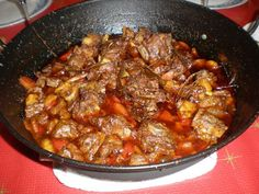 My Favorite Food, Favorite Recipes, Bacon, Food And Drink, Beef, Cooking, Ethnic Recipes, Kitchen, Barbacoa