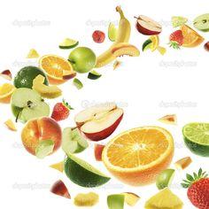 фото крупно овощі і фрукти в вагіні