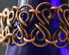 Leather BraceletWomen Leather BraceletCopper by TwistdbyDesign