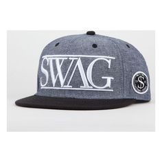 Neff Swag Snapback Hat ($26) ❤ liked on Polyvore featuring accessories, hats, snapbacks, adjustable hats, neff hats, adjustable snapback hats, patch hat and snap back hats