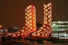 Christmas Boots at North Star Mall
