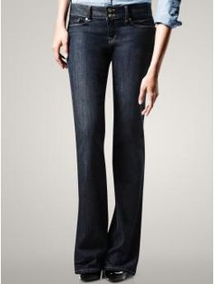 Gap 1969 perfect boot jeans. Great to dress up for a night out bar hopping!