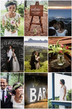 Fun & Romantic Tahiti Wedding | SV Photograph | Bridal Musings Wedding Blog