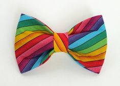 Bow tie for dog collars Prom Suit Inspiration, Rainbow Dog, Bow Tie Collar, Bow Tie Wedding, Dog Bows, Belly Bands, Dog Collars, Pets, Dog Stuff