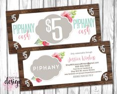 Leaf branches art gift certificate template pinteres piphany cash piphany money dollars coupon pphany gift certificate card small business bucks promo rustic wood shabby chic printable colourmoves
