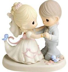 precious moments cake topper wedding - Google Search