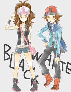 Tags: Pokémon, Nintendo, Touko (Pokémon), Touya (Pokémon)