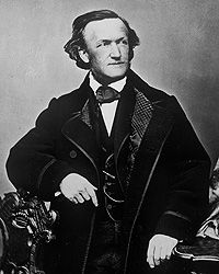 "Richard Wagner - the premieres of ""Tristan und Isolde"" (1865), ""Die Meistersinger von ürnberg"" (1868), ""Das Rheingold"" (1869) and ""Die Walküre"" (1870). Ludwig II thus continued the patronage tradition of the House of Wittelsbach in grand style."