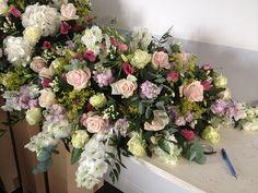 Country Garden Wedding | MAIA | Flickr Lilac Wedding, Wedding Flowers, Wedding Top Table, Country Garden Weddings, Garden Theme, Table Arrangements, Wedding Receptions, Floral Wreath, Wreaths
