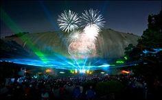 Laser Show, Stone Mountain Park, Stone Mountain, GA #park #stone #mountain #georgia #laser #show