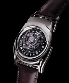 2 of the best come together  |  Nitro Watch by MB-F and URWERK