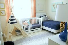 Boys bedroom, toddle