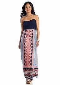 Speechless Crochet Chiffon Maxi Dress