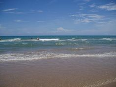 South Padre Island, Texas.....warm shallow water that you can lay in...so-o-o nice - OH YES!