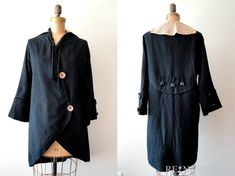 love the lines of this coat....gorgeous #1900s #1910s #coat