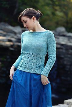 Little Mermaid Sweater pattern by Anne Podlesak