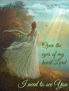 Open the eyes to my heart Lord to see your path to follow