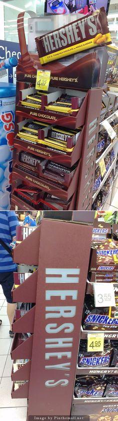 "Hershey's ""Pure Chocolate, Pure Hershey's"" Product Display"