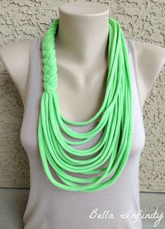 Bella Infinity Braided Scarf UpCycled by BellaInfinityScarves, $20.00 summer scarf