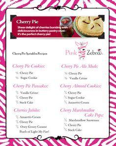 Cherry Pie Sprinkles Recipes