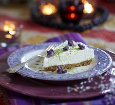 Frisk cheesecake med lime