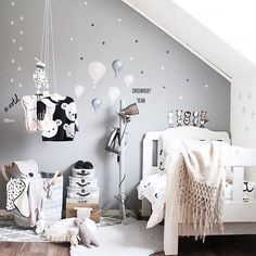 Cred: @stickstay.se  Looking for adventurous walls in the kid's room @stickstay.se has the coolest moveable wallstickers ✌️ Tomorrow they are celebrating their 1st birthday with discount and giveaways  Ellie has already got Ruby the rabbit and Charlie the sheep  #stickstay #birthday #inspiration #inspo #wallstickers #kidsroom #babyroom #mittbarnerom #stickers #barnrum #nursery