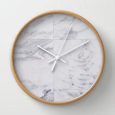 marble Wall Clock by iuliapironea Decor, Wall, Wall Clock, Buy Marbles, Furniture, Clock, Home Decor, Cb2 Furniture, Marble Wall