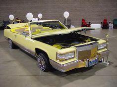Cadillac custom convertible