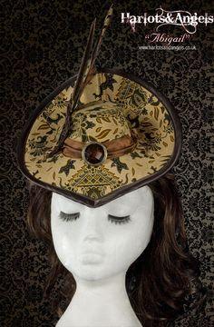 Hat Pattern Victorian Steampunk Hat Cosplay Costuming With | Etsy Victorian Hats, Victorian Steampunk, Gothic, Steampunk Dolls, Steampunk Fashion, Renaissance Hat, Hat Tutorial, Pirate Hats, Wedding Hats